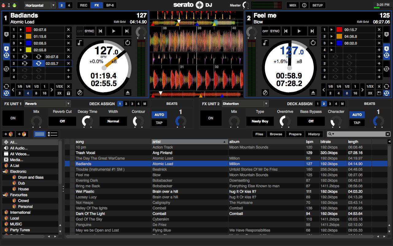 SERATO DJ – NEW USER INTERFACE DESIGN!!