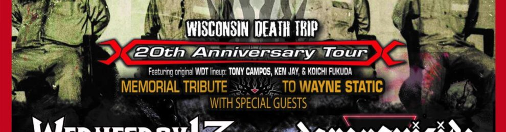 DAVEY SUICIDE Announces Winter Tour with STATIC-X and WEDNESDAY 13