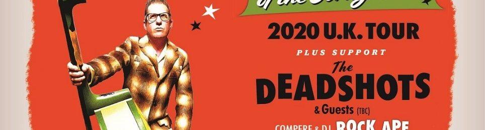 "LEE ROCKER Announces 2020 U.K. Tour Dates + New Single ""DOG HOUSE SHUFFLE"" Out 10/30"